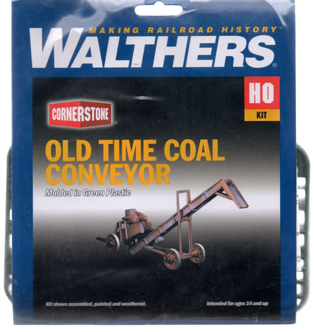 HO Scale Walthers Cornerstone 933-3520 Old-Time Coal Conveyor Kit