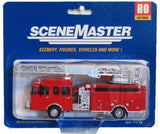 HO Scale Walthers SceneMaster 949-13801 Heavy-Duty Fire Department Ladder Truck