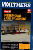 HO Scale Walthers Cornerstone 933-4120 Intermodal Yard Parking Lot Pavement Kit