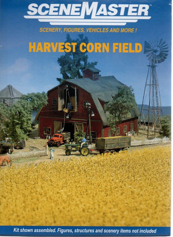 HO Scale Walthers SceneMaster 949-1141 Harvest Corn Field Kit