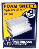 Woodland Scenics ST1422 Sub Terrain System 1/4 in (6 mm) Foam Sheet