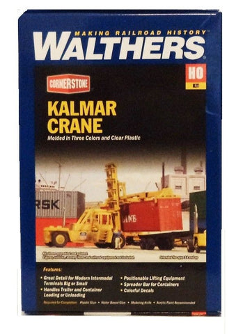 HO Scale Walthers Cornerstone 933-3109 Kalmar Intermodal Container Crane Kit