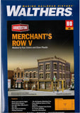 HO Scale Walthers Cornerstone 933-4041 Merchant's Row V Building Kit