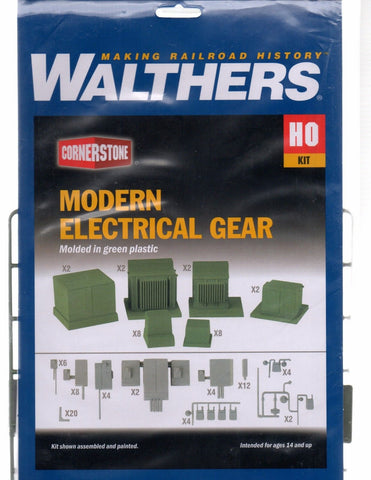 HO Scale Walthers Cornerstone 933-4075 Modern Electrical Gear Kit