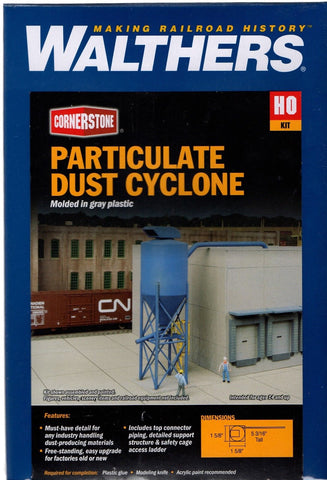 HO Scale Walthers Cornerstone 933-4087 Particulate Dust Cyclone Kit