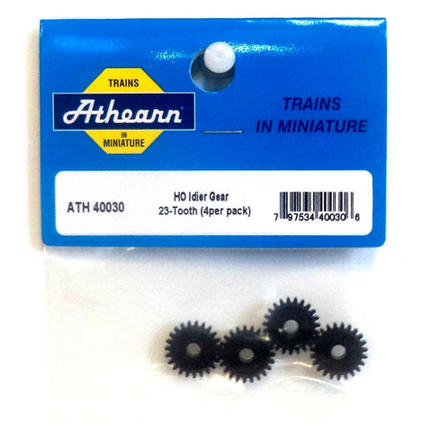 HO Scale Athearn 40030 Idler Gear, 23-Tooth (4) pcs