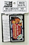 HO Scale Tichy Train Group 8438 Bob Hope Chesterfield Billboard Kit