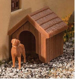 HO Scale Walthers SceneMaster 949-4147 Dog & Kennel/Doghouse
