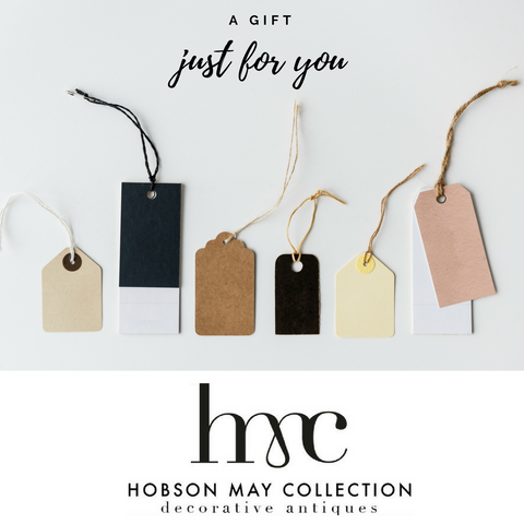 Hobson May Launch Gift Collection
