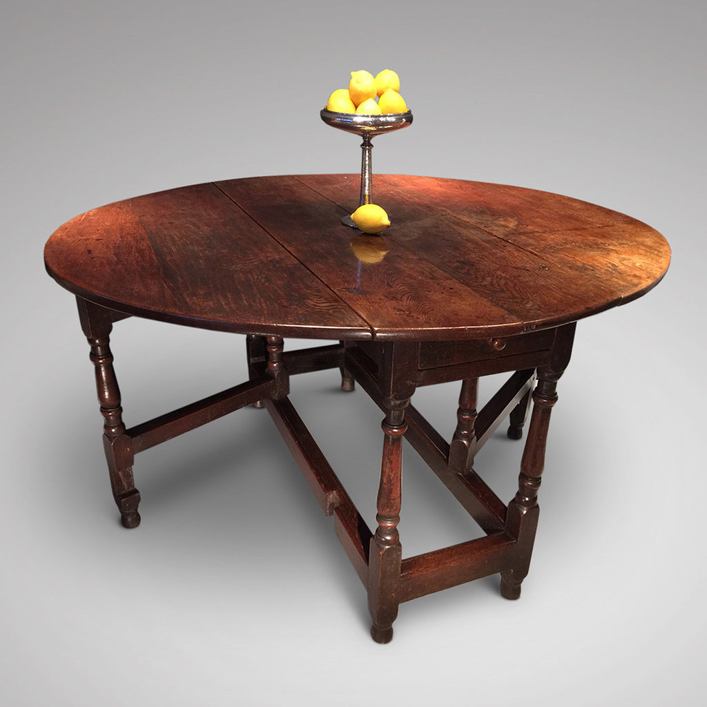 18th Century Gateleg Dining Table - Hobson May Collection - 1