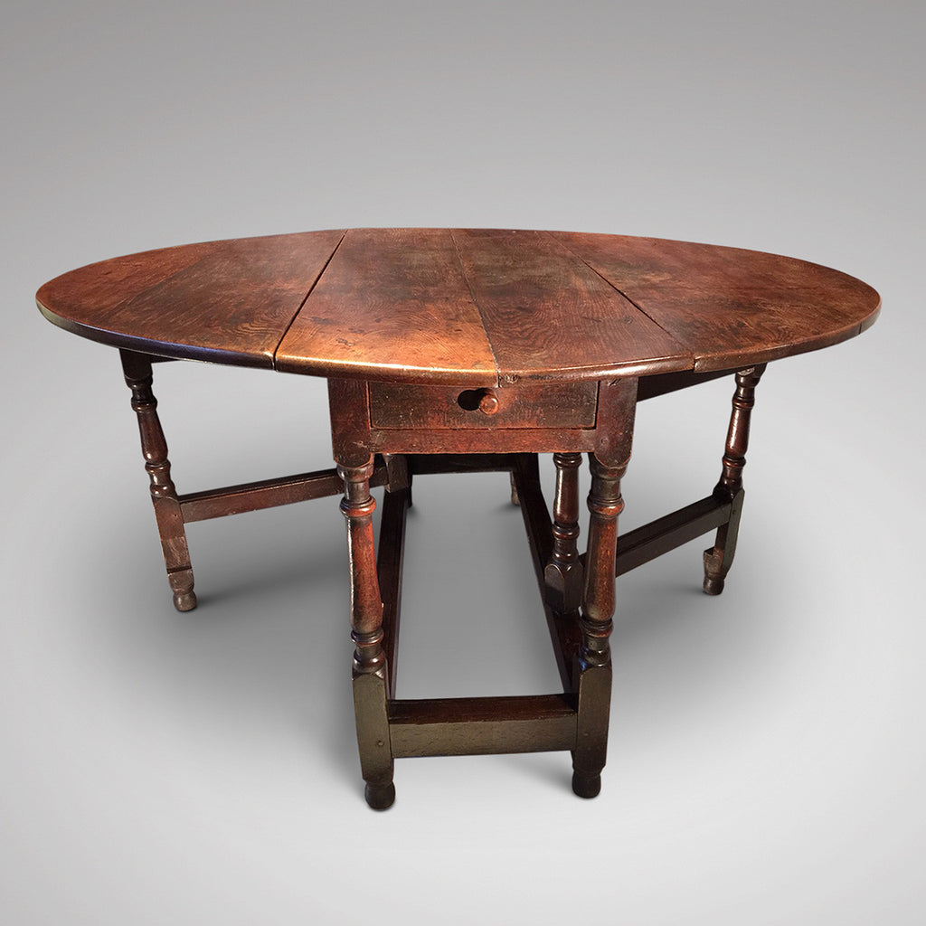 18th Century Gateleg Dining Table - Hobson May  Collection- 2