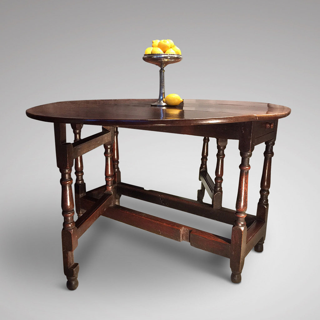 18th Century Gateleg Dining Table - Hobson May Collection - 3