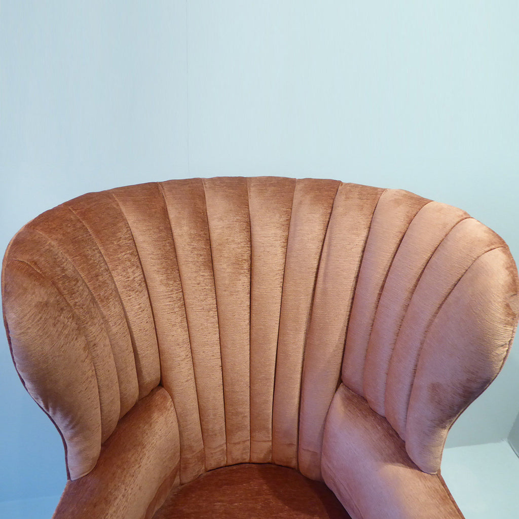 19th Century Barrel Back Armchair - Insert View one