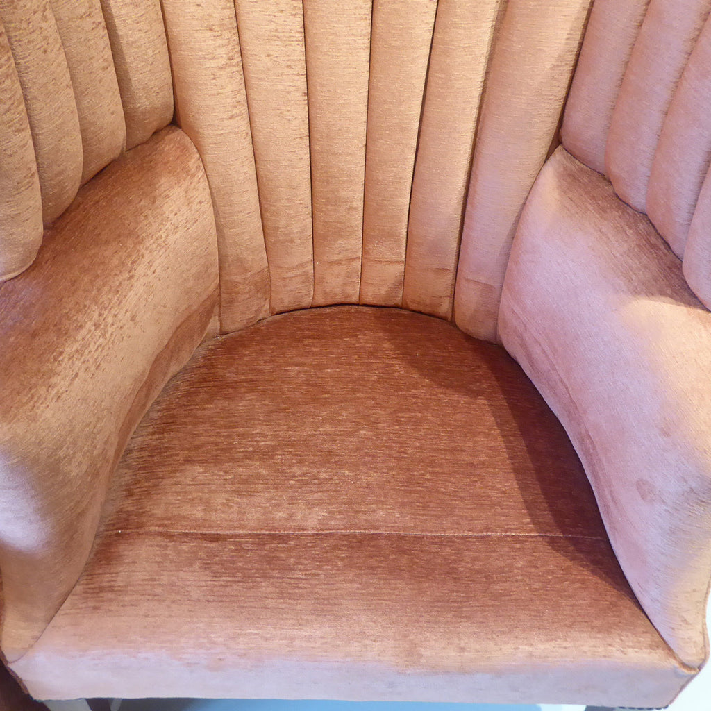 19th Century Barrel Back Armchair - Insert view two