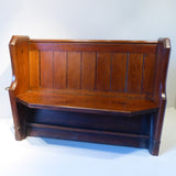 19th Century Church Pew - Hobson May Collection - 2