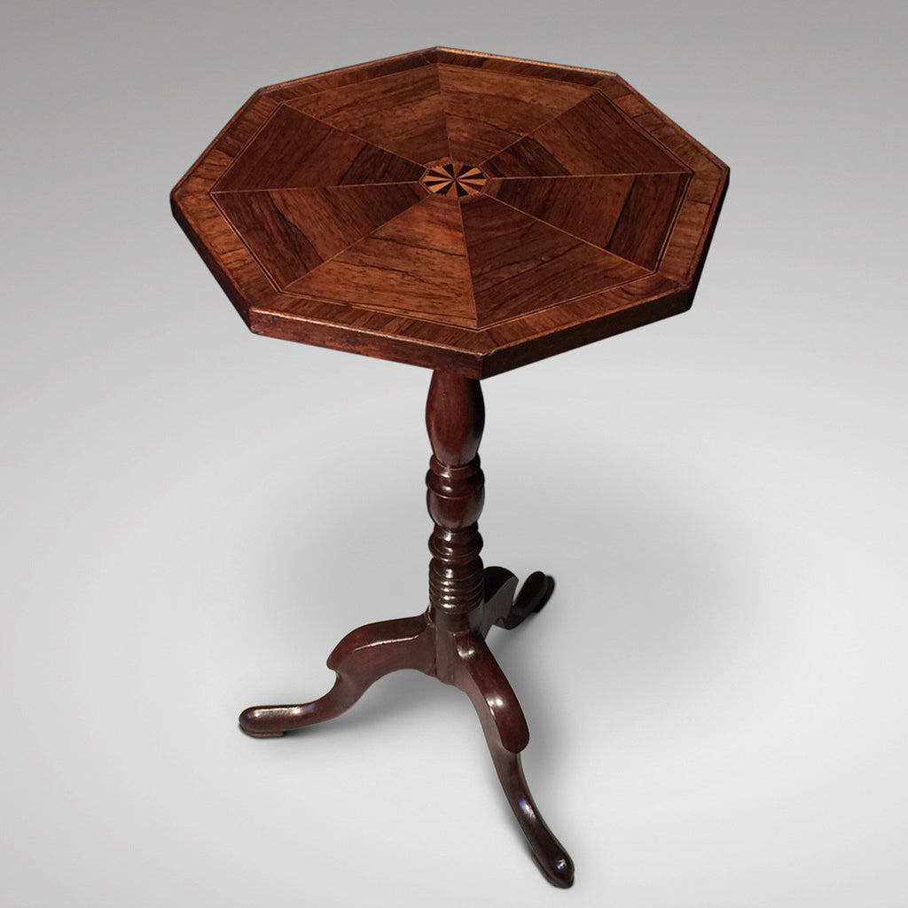 19th Century Octagonal Wine Table - Front View One