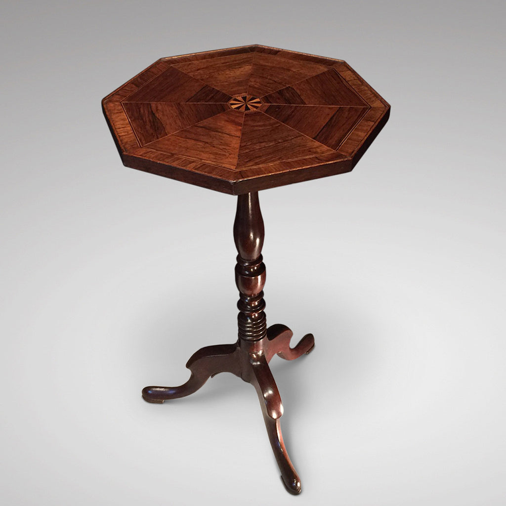 19th Century Octagonal Wine Table - Front View Two