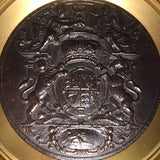 19th Century Plaque with Royal Coat of Arms - Hobson May Collection - 2