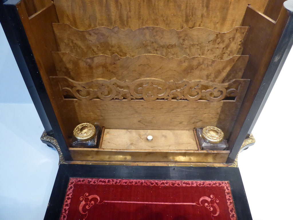 19th Century French Boule Writing Cabinet - Hobson May Collection - 3