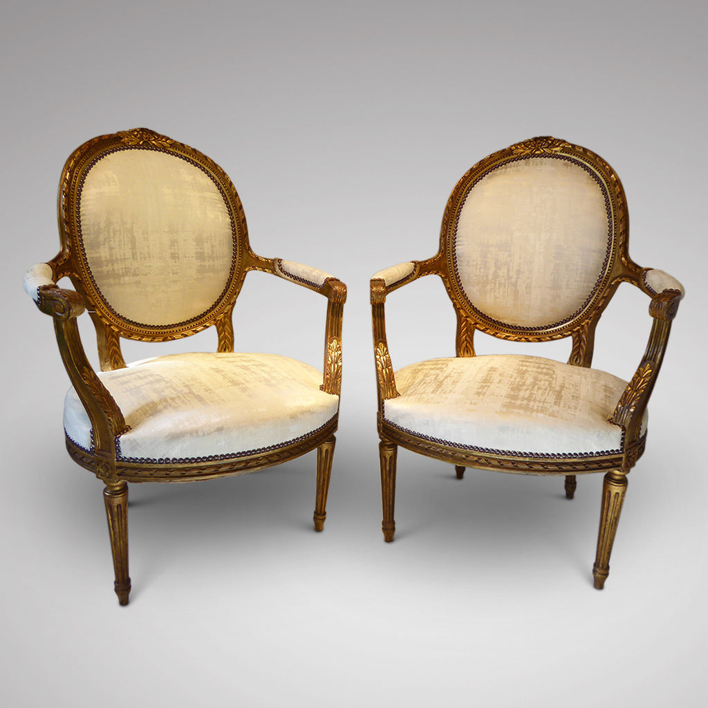 Pair of 19th Century French Chairs - Hobson May Collection - 1