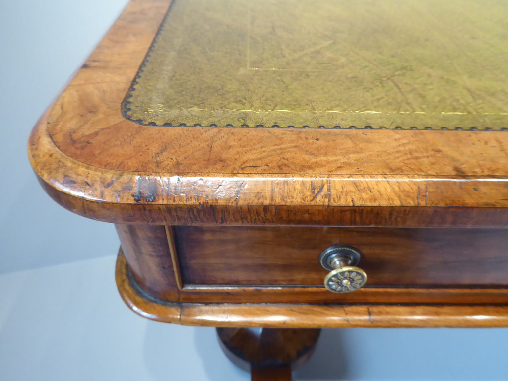 19th Century  Walnut  Library Table - Hobson May Collection - 4