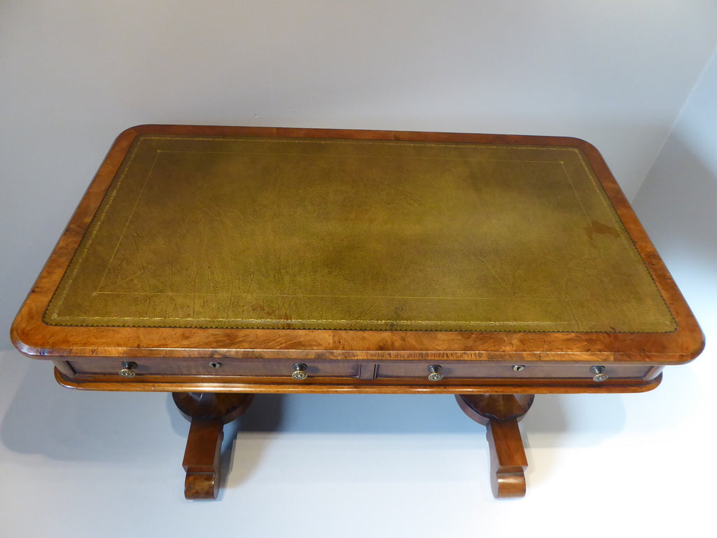 19th Century  Walnut  Library Table - Hobson May Collection - 3