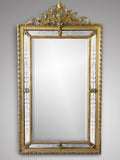 19th Century Giltwood Wall  Mirror  174cm x 98cm -Front View