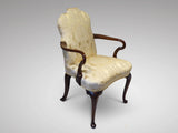 Edwardian Mahogany Armchair - Hobson May Collection - 1