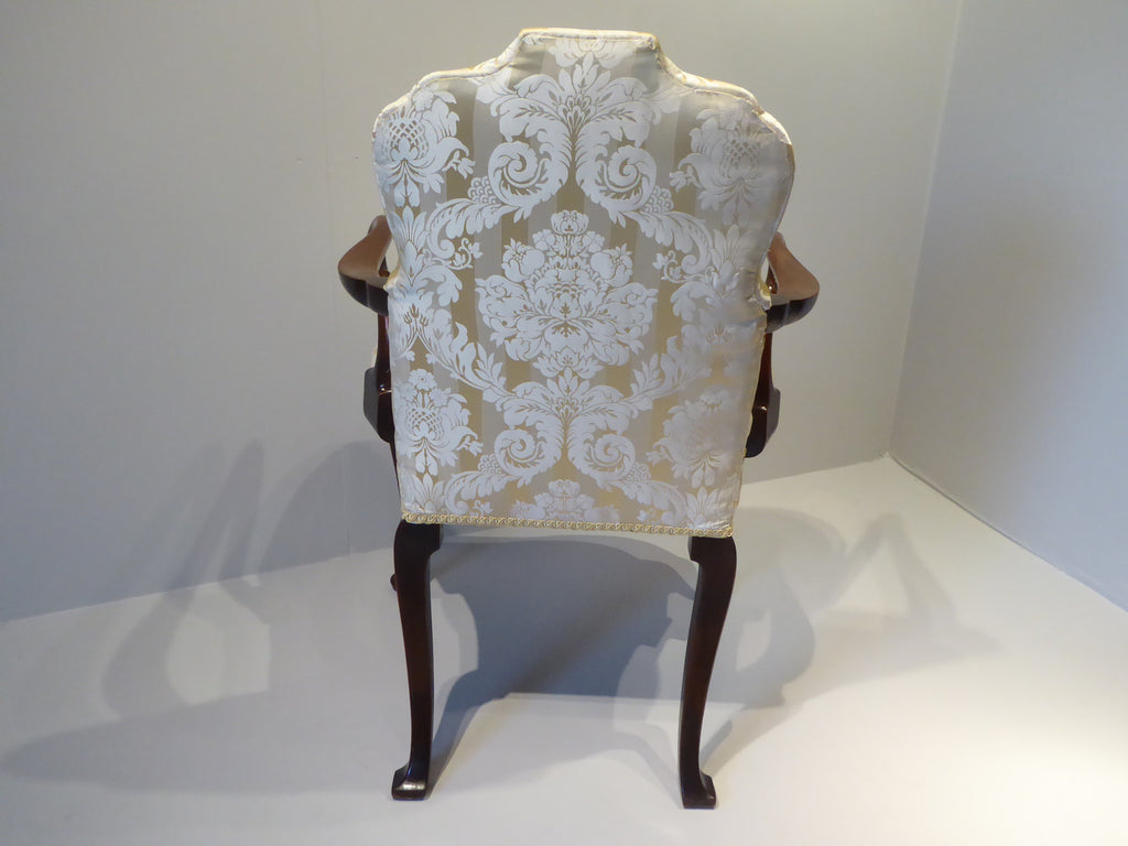 Edwardian Mahogany Armchair - Hobson May Collection - 4