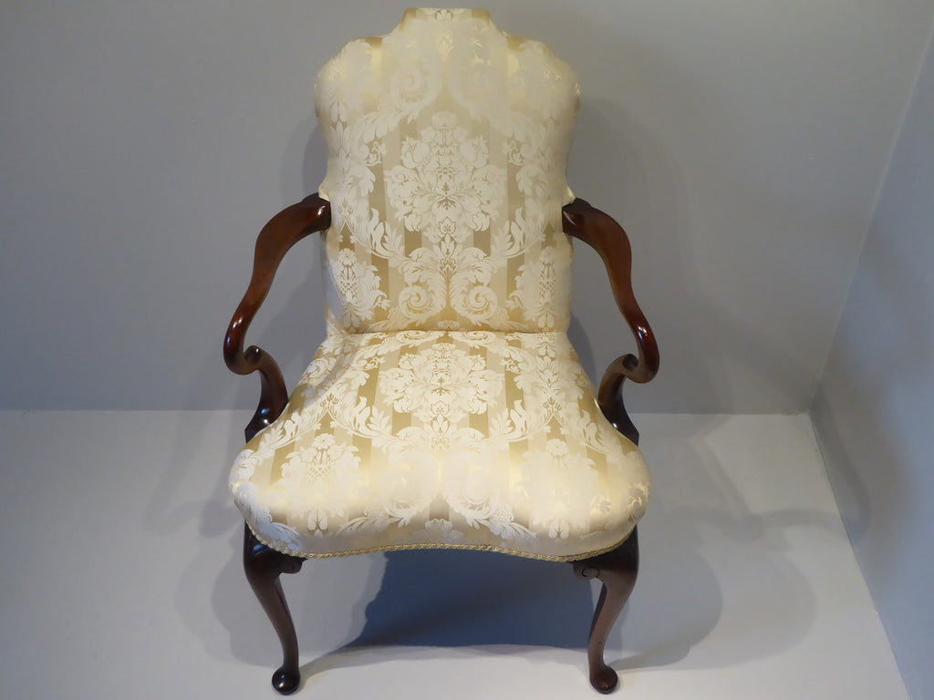 Edwardian Mahogany Armchair - Hobson May Collection - 2