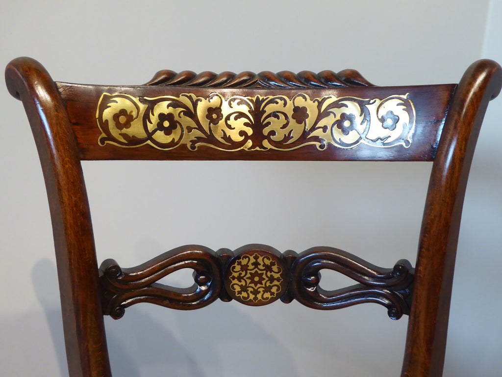 Regency Rosewood Musician Chair - Hobson May Collection - 2