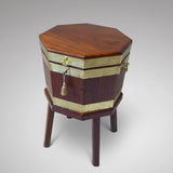 George III Mahogany Cellarette - Front View -2