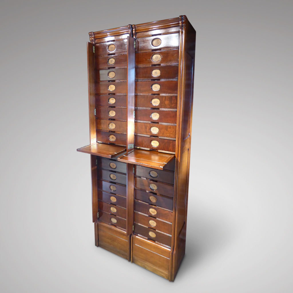 A Pair of Early 19th Century Filing Cabinets - Hobson May Collection - 2