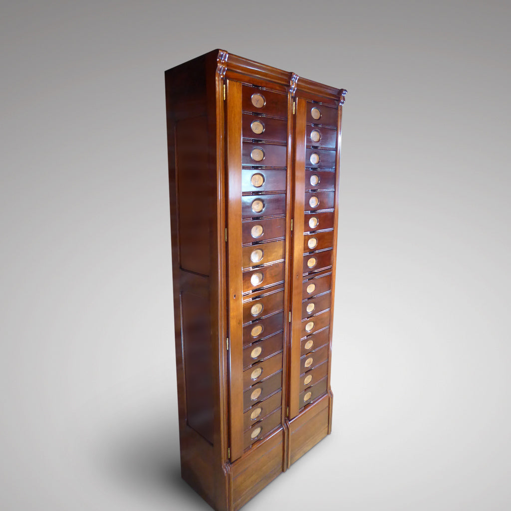 A Pair of Early 19th Century Filing Cabinets - Hobson May Collection - 1
