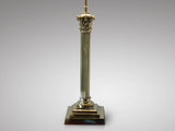 Brass Table Lamp in the Corinthian Style - Hobson May Collection - 3