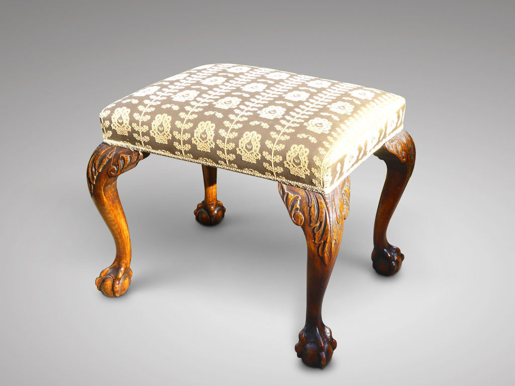 Mahogany Footstool in the Georgian Style - Hobson May Collection