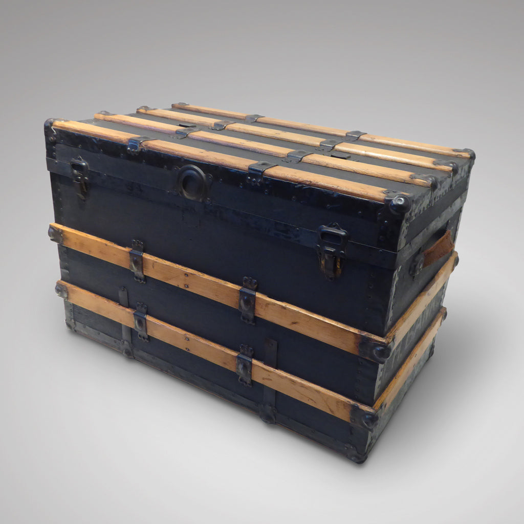 Victorian Steamer Trunk - Front View