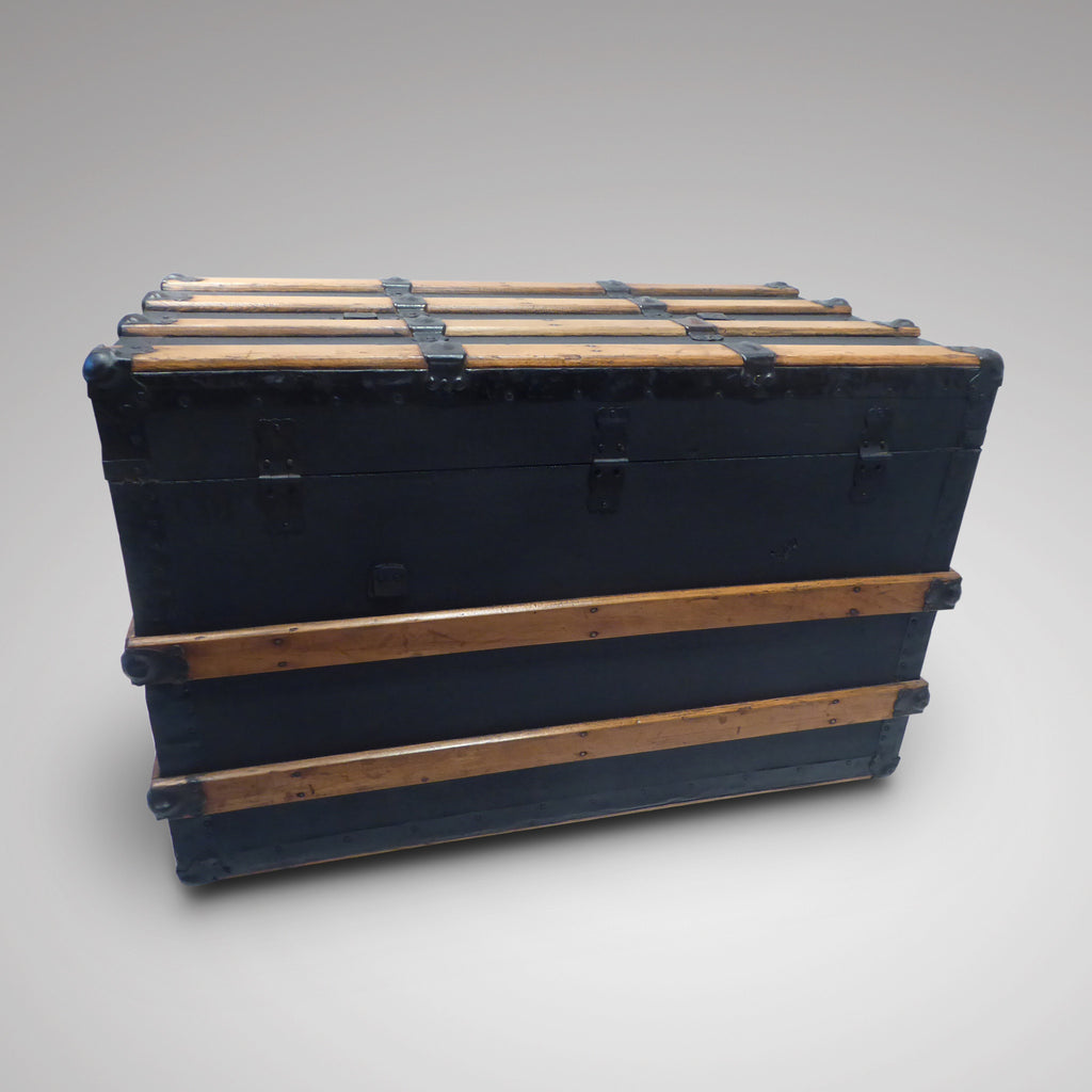 Victorian Steamer Trunk - Back View