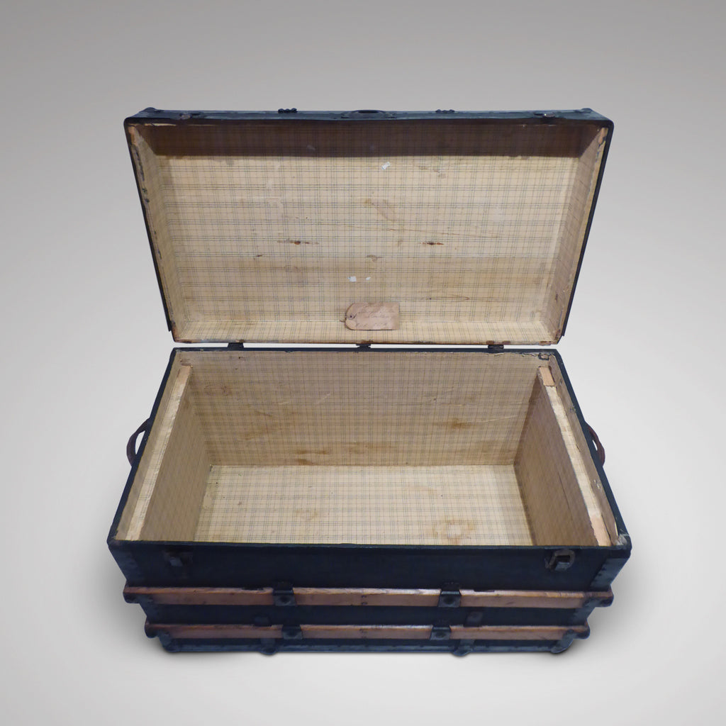 Victorian Steamer Trunk - Inside View Two