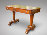 19th Century  Walnut  Library Table - Hobson May Collection - 1