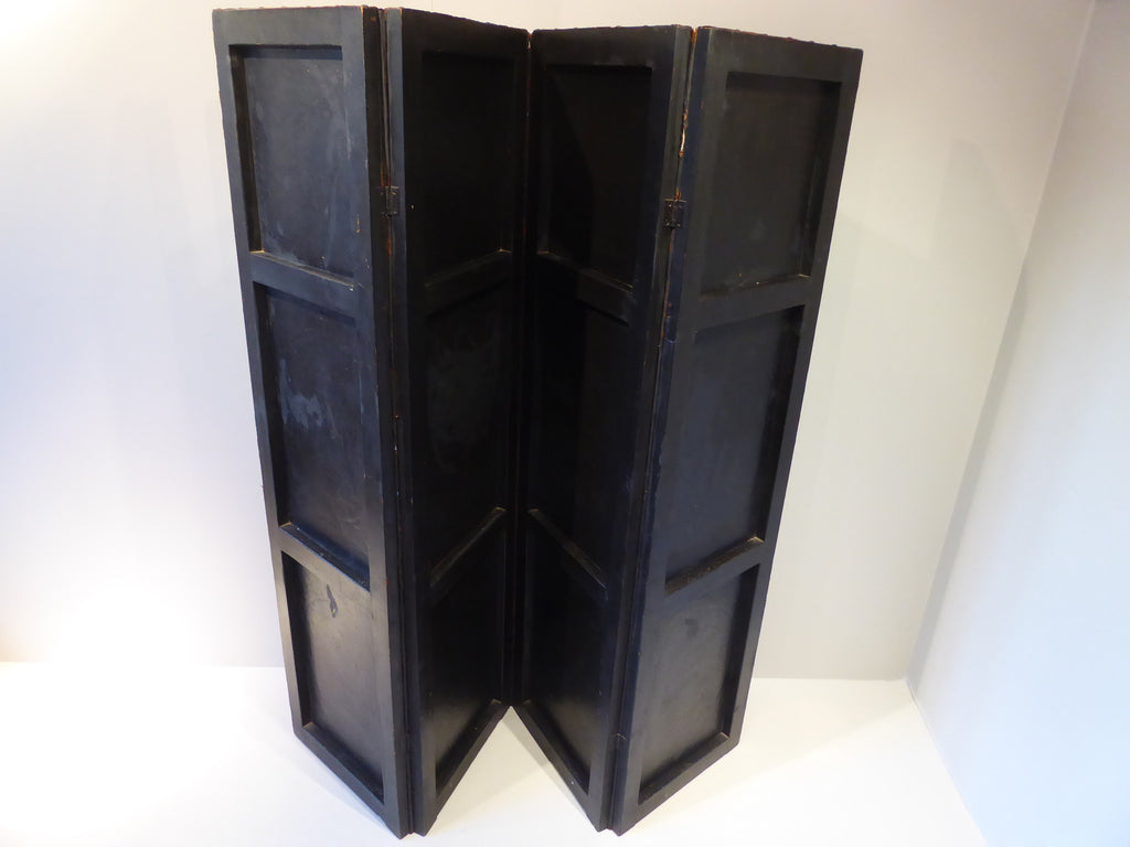 Late 19th Century Leather Screen - Hobson May Collection - 4