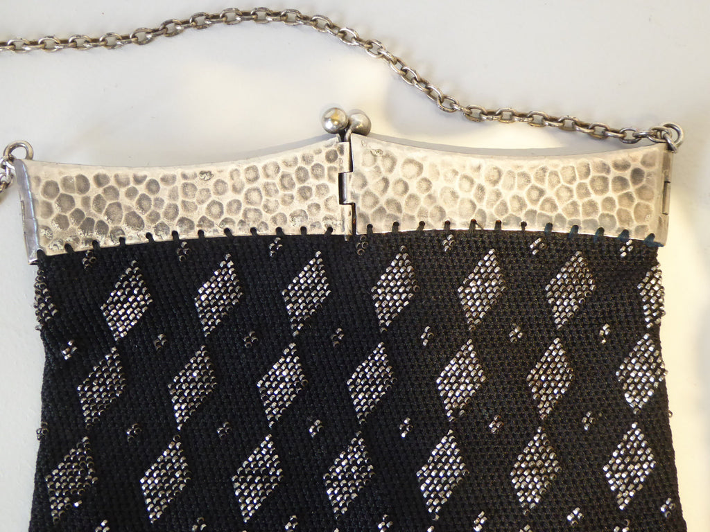 Edwardian Beaded Bag with Purse - Hobson May Collection - 2