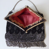 Edwardian Beaded Bag with Purse - Hobson May Collection - 3