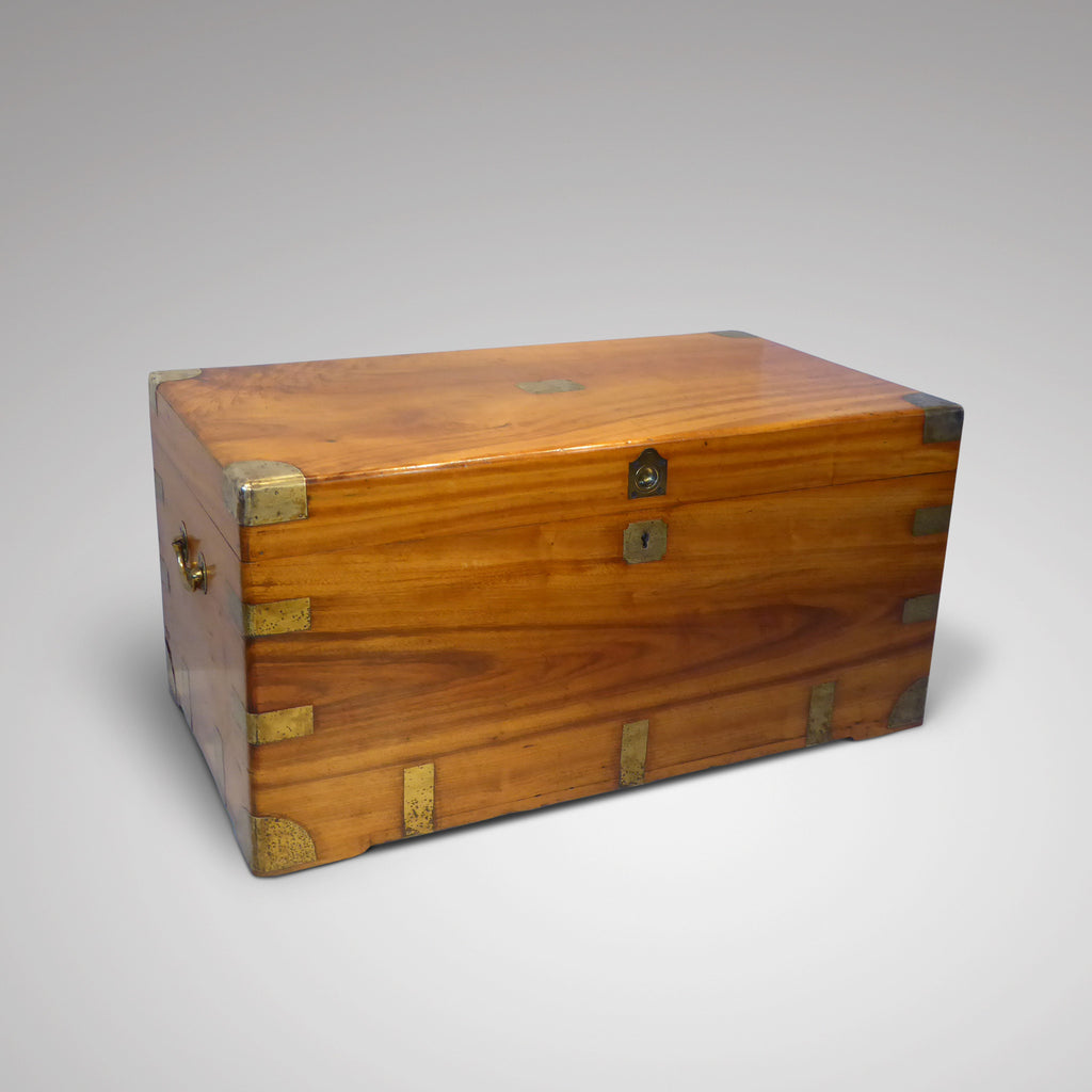 19th Century Camphor Chest - Coffee Table - Front View - 1