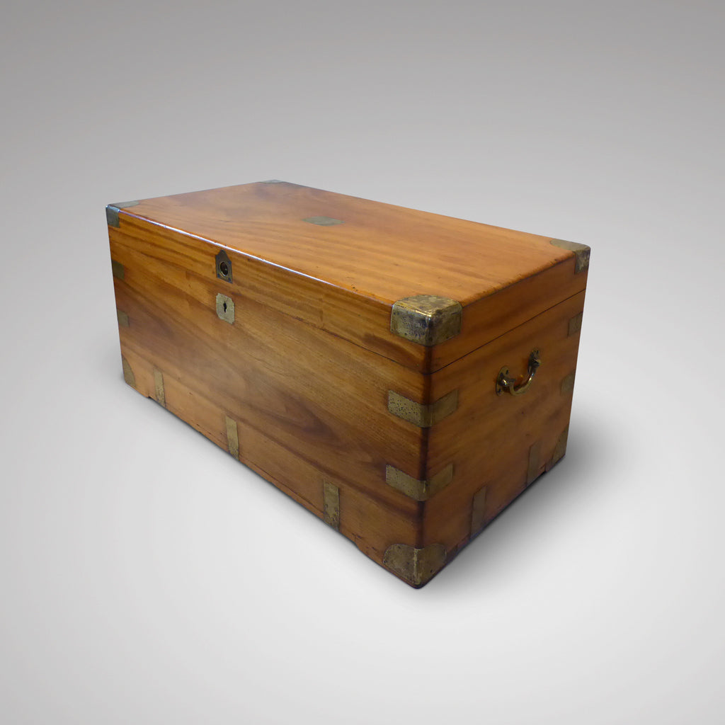 19th Century Camphor Chest - Coffee Table -Side & Front View - 3