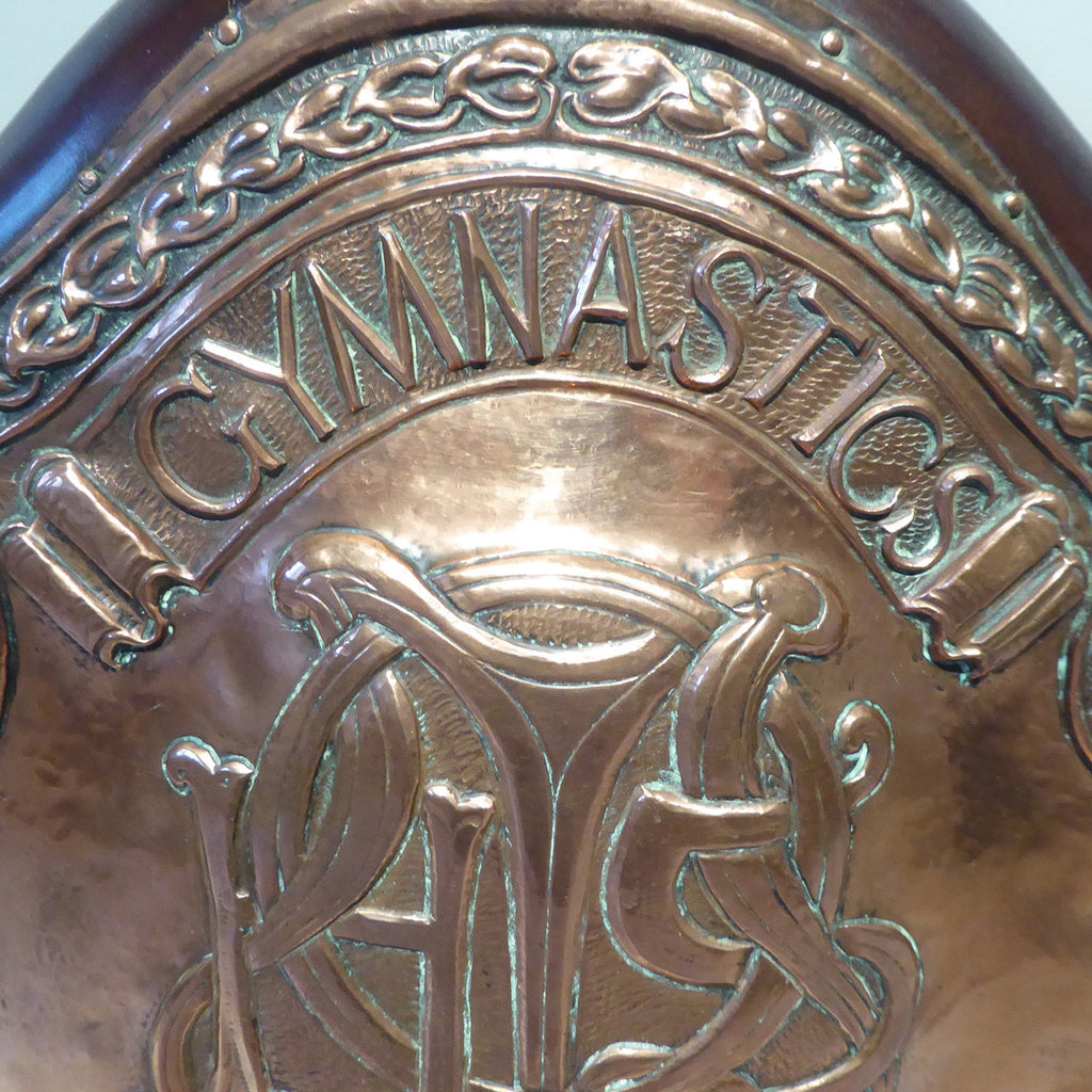 Early 20th Century Sports Shield -Top Detail View - 2