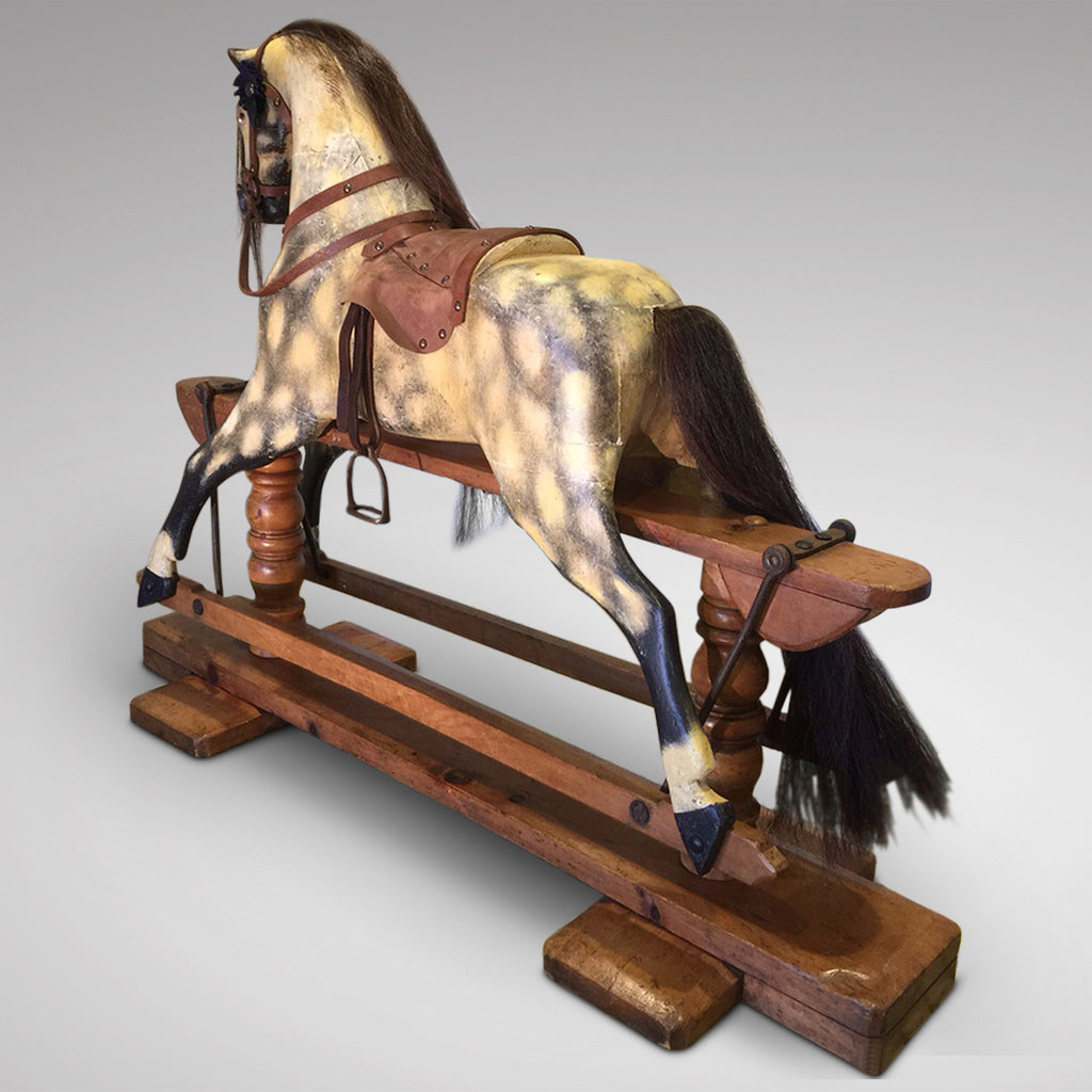 Early 20th Century Turnbull Rocking Horse - Back View