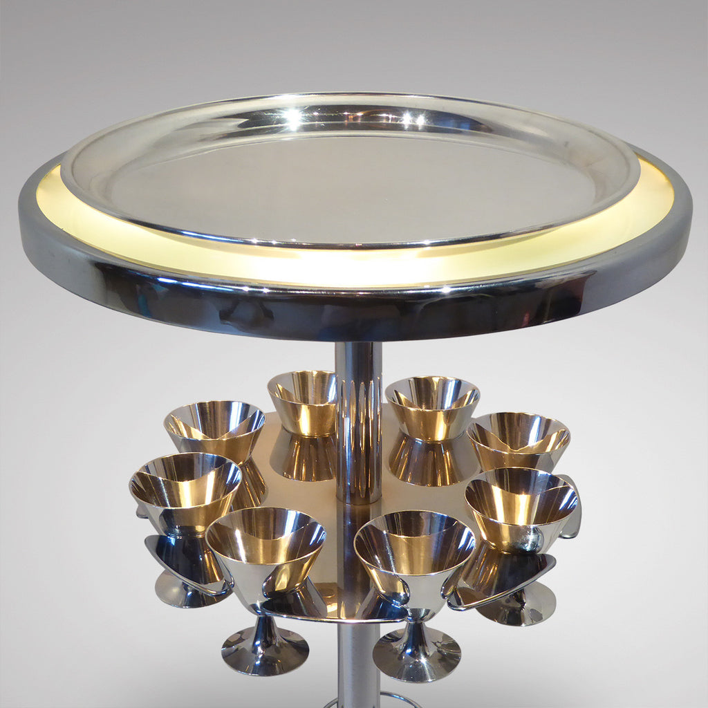 French Art Deco Cocktail Table - View of Top-4