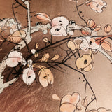 Oriental Lacquered Coffee Table - Close up of top- 6