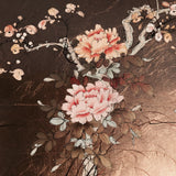 Oriental Lacquered Coffee Table - Close up of top- 5